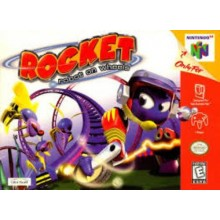 Rocket Robot on Wheel
