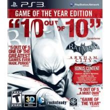 Batman: Arkham City Game Of The Year