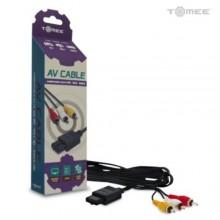 Câble AV S-Videp pour Snes/N64/Gamecube