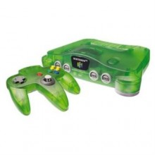 Console Nintendo 64 Jungle Green