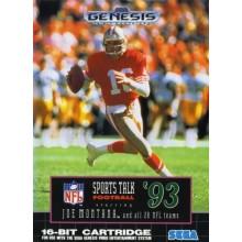 Sports Talk Football '93 Starring Joe Montana