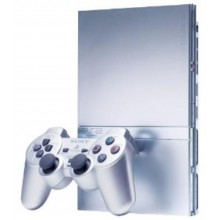 Console PlayStation 2 Slim Argent