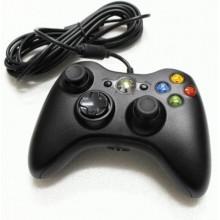 Manette XBOX 360 Officielle Noire avec Fil