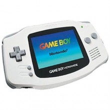 Game Boy Advance Blanc