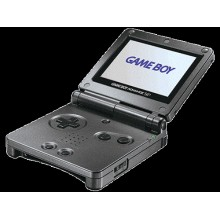 Game Boy Advance SP Model No. AGS-001 Noir