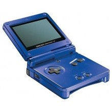 Game Boy Advance SP Model No. AGS-001 Bleu