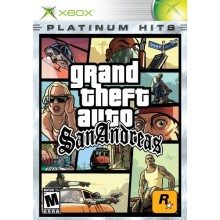 Grand theft auto San Andreas Platinium Hits
