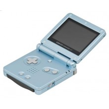 Game Boy Advance SP Model No. AGS-101 Turquoise