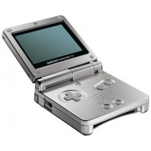 Game Boy Advance SP Model No. AGS-001 Argent
