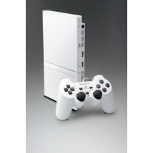 Console Playstation 2 Slim Blanche