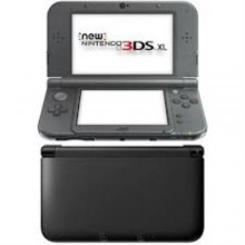 New 3DS XL Metallic Black