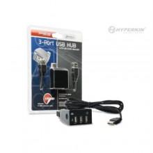PS3 3-Ports USB Hub with SD Card Reader - Hyperkin