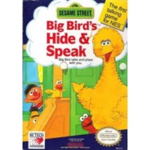 Sesame Street Big Bird's Hide and Speak