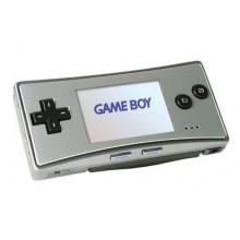 Console Gameboy Micro silver