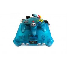 Console Nintendo 64 Funtastic Colors Ice Blue