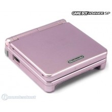 Game Boy Advance SP Model No. AGS-101 Rose