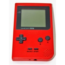 Console Nintendo Game Boy Pocket Rouge