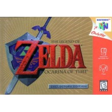 The Legend of Zelda Ocarina of Time Gold