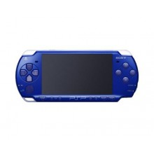 Sony PSP Playstation Portable Metallic Blue Handheld System
