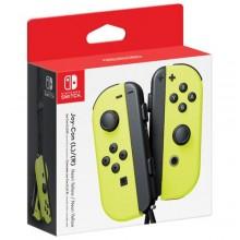 Manettes gauche et droite Joy-Con pour Nintendo Switch - Jaune fluo