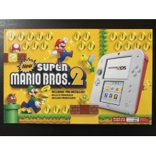 Console New Super Mario Bros 2 Nintendo 2DS - Scarlet Red