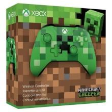 Manette sans fil XBOX One Minecraft Creeper