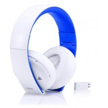 Gold Wireless Stereo Headset White