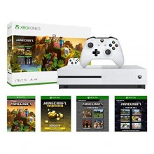 Console XBOX ONE S 1To  avec Minecraft
