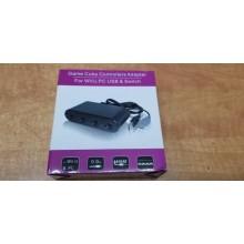 Adaptateur de Manette GameCube (4 ports) pour Wii U / Switch / PC
