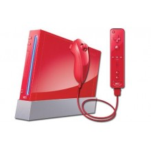Console Nintendo Wii Rouge