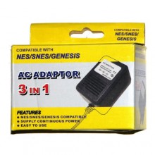 Adaptateur AC compatible NES/SNES/Genesis