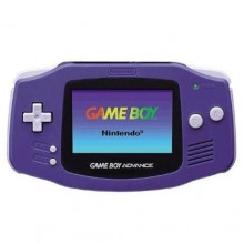 Console Nintendo Game Boy Advance Indigo