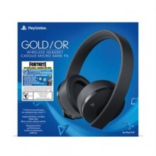 Casque d'écoute-micro sans fil Gold PS3/PS4 + Ensemble Neo Versa Fortnite.