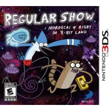 Regular Show: Mordecai & Rigby in 8-Bit Land