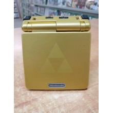 Game Boy Advance SP Model No. AGS-001 Zelda Tri force