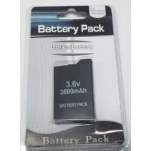 Batterie pour console PSP 2000 et 3000 (Battery Pack) 3.6 V 3600 mAh