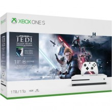 Console XBOX ONE S 1 To (1000 G) avec Star Wars Jedi Fallen Order (Digital)
