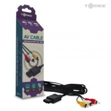 Cable Audio/Video pour Gamecube/N64/SNES (RCA/ AV Cable)