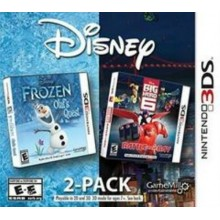 Frozen & Big Hero 6 Disney 2 Pack