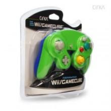 Manette pour GameCube (Verte et Blue) - CirKa