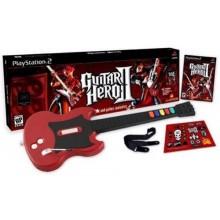 Guitar Hero II Guitar & Game Controller
