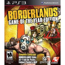 BorderLands Game of the Year Edition.